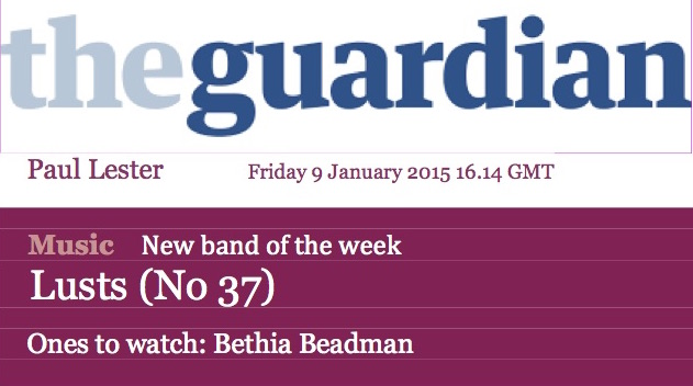 The Guardian - Ones to Watch